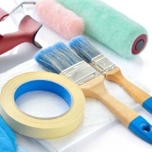 Paint Brushes, Rollers & Accessories