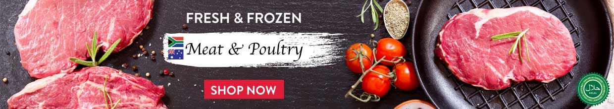 Fresh and Frozen Meat and Poultry for sale Go delivery Mauritius