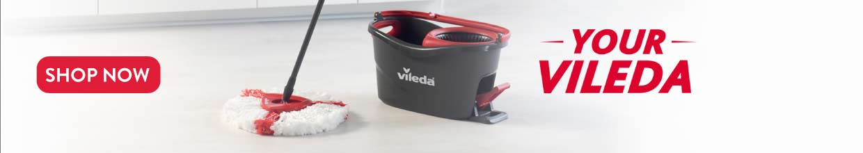 Vileda Mop Broom Brush and Cleaning for sale Go Delivery Mauritius